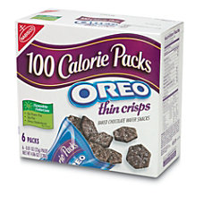 Nabisco 100 Calorie Oreo Thin Crisps