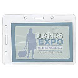 Office Depot Brand Plastic Convertible Badge