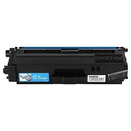 Brother® TN-336C High-Yield Cyan Toner Cartridge