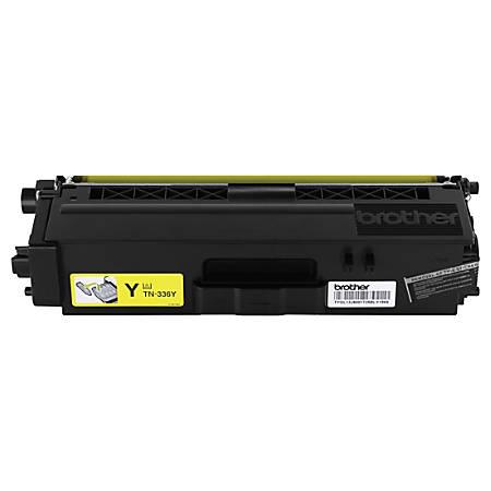 Brother® TN-336Y High-Yield Yellow Toner Cartridge