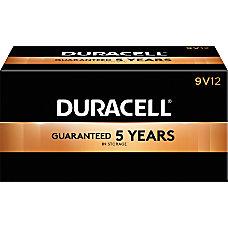 Duracell Coppertop Alkaline 9 Volt Batteries