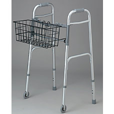 Medline 2 Button Walker Baskets 5