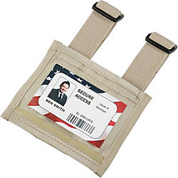 SKILCRAFT Armband ID Badge Holder Elastic