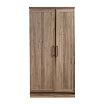 Sauder Homeplus Storage Cabinet 12 Shelves Salt Oak By Office Depot Officemax