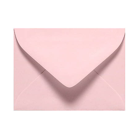 """LUX Mini Envelopes With Moisture Closure, #17, 2 11/16"""" x 3 11/16"""", Candy Pink, Pack Of 500"""