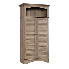 Sauder Harbor View Storage Cabinet Salt