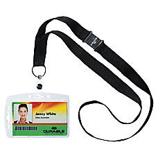 Durable Safety Lanyard Shell Style ID