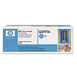 HP 123A Cyan Original Toner Cartridge