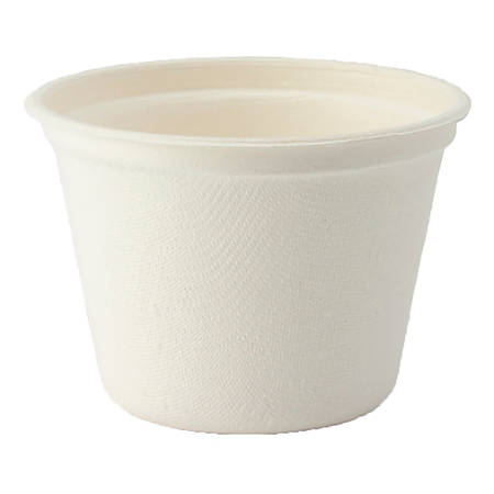 StalkMarket® Planet+ Compostable Hot Cups, 4 Oz Portion, White, Pack Of 1,500 Cups