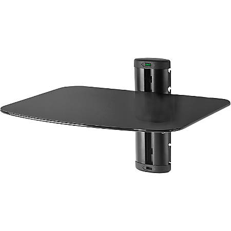 Peerless-AV ESHV20 Mounting Shelf for A/V Equipment - Black - 30 lb Load Capacity