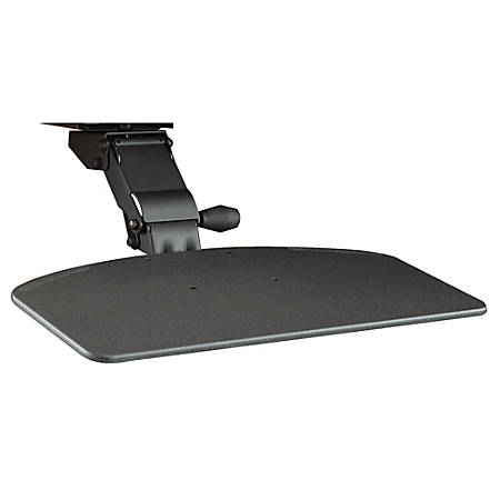 Bush Business Furniture Articulating Keyboard Tray (HAT) For Move 60 and Move 80 Desk, Galaxy, Standard Delivery