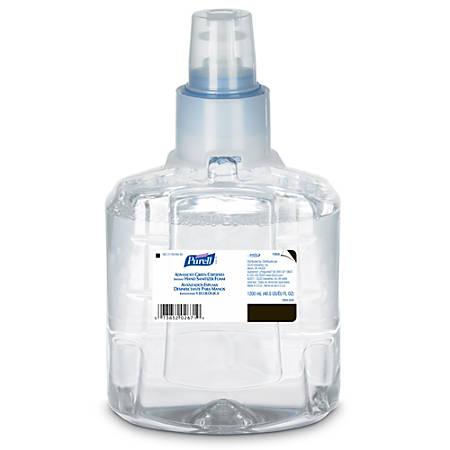 Purell® LTX Advanced Foaming Instant Hand Sanitizer Refills, 1,200 mL, Case Of 2 Refills