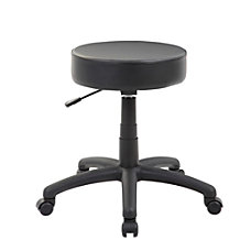 Boss Office Products Dot Stool Black