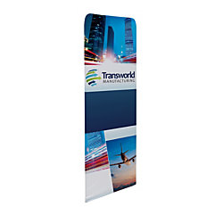 """Custom Printed Full-Color Double-Sided Replacement Graphic For Stretch Fabric Display, 72"""" x 2'"""