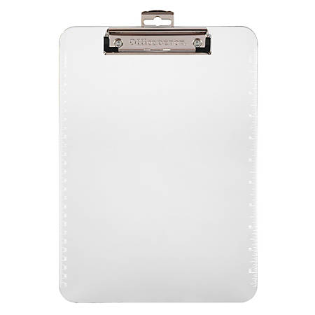 Office Depot® Brand Plastic Clipboard, Clear