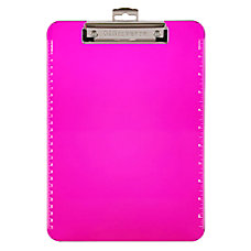 Office Depot Brand Plastic Clipboard 8
