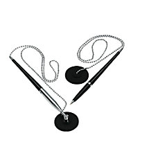 OfficeMax Chain Pen With Holder Medium