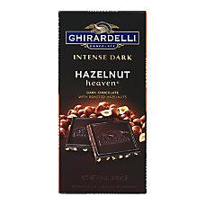 Ghirardelli Intense Dark Hazelnut Heaven Bars