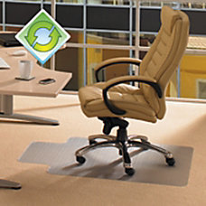 EcoTex Evolutionmat Polymer Chair Mat For