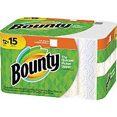 Bounty Paper Towel Rolls 2 Ply