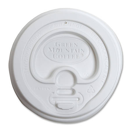 Green Mountain Coffee® T93783 Ecotainer™ Cup Lids, Carton Of 1,200