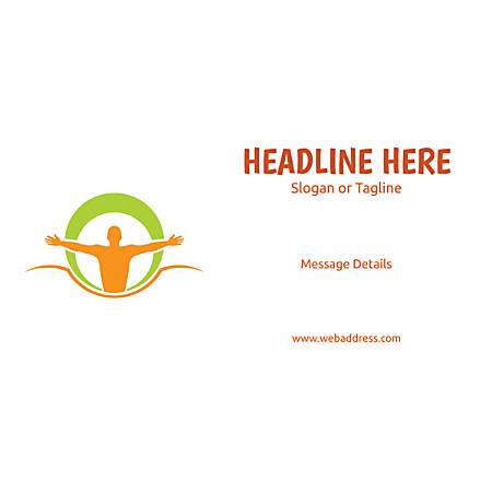 Custom Horizontal Banner, Body Balance