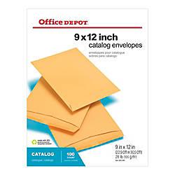 Office Depot Brand Catalog Envelopes 9