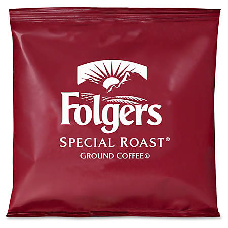 Folgers® Special Roast® Medium Ground Coffee, 0.8 Oz, Carton Of 42 Packets