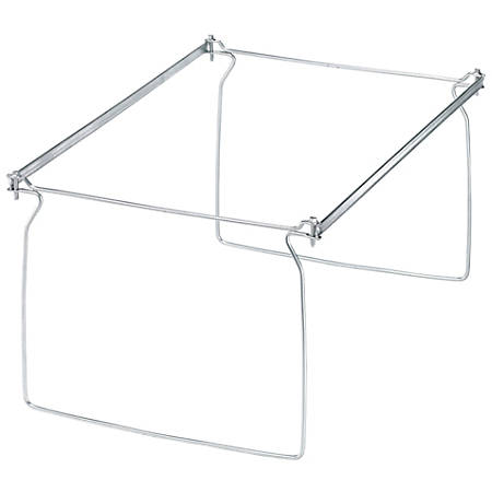 Office Depot Brand Metal File Frames Legal Size Silver Box Of 2 by ...