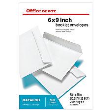 Office Depot Brand Booklet Envelopes 6