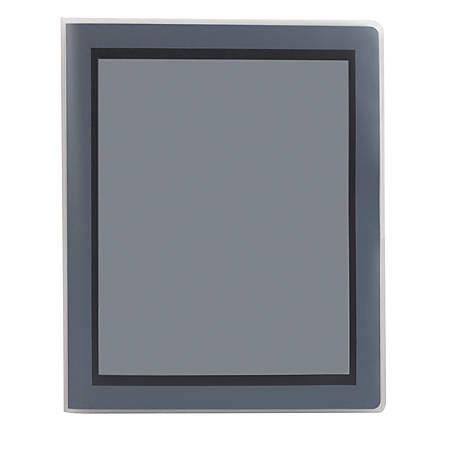 OfficeMax® Brand 2-Pocket Poly Folders, Black
