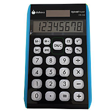 Datexx Hybrid Desktop Calculators Pack Of
