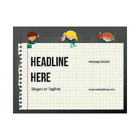 Custom Flyer, Horizontal, School Kids