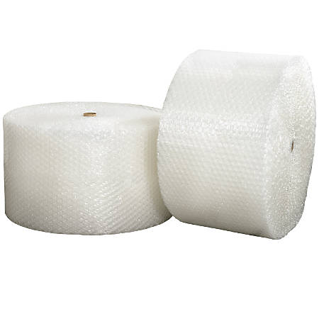 """Office Depot® Brand Bubble Roll, 5/16"""" x 48"""" x 375', Slit At 24"""", Perf At 12"""""""