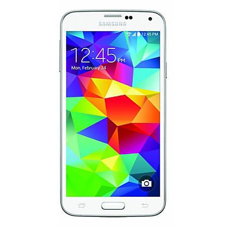 Samsung Galaxy S5 G900V Cell Phone, White, PSN100505