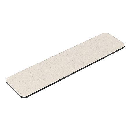"Safco® Flip-N-Go Folkstone Training Table Tabletop, 48"" x 24"", Gray"