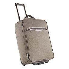 Riley Co Polyester Rolling Carry On