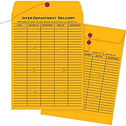 Business Source 2 Sided Interdepartmnt Envelopes