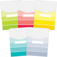 Educational Painted Palette Paint Chips Extra