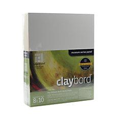 Ampersand Cradled Claybord 8 x 10