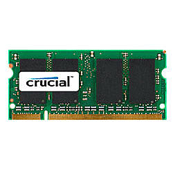 Crucial DDR2 Memory Upgrade For Notebook
