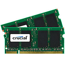 Crucial DDR2 Memory Upgrade Kit For