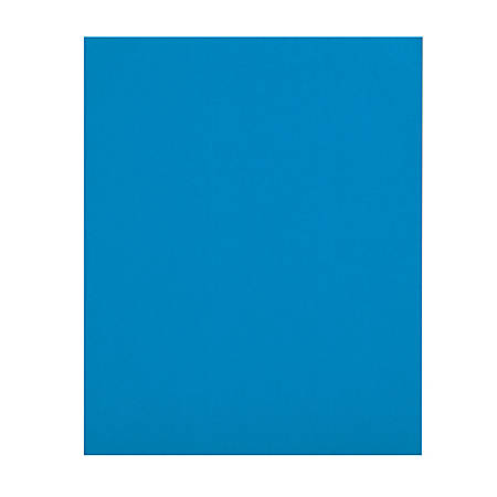 Office Depot® Brand 2-Pocket Folders without Fasteners, Light Blue, Pack of 25