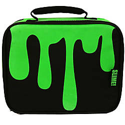 Nickelodeon Slime Insulated Lunch Bag BlackGreen