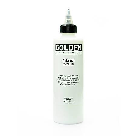 Golden Airbrush Medium, 8 Oz