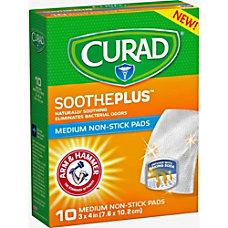 Curad SoothePlus Medium Non stick Pads