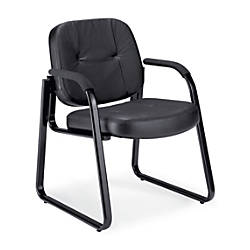 OFM Reception Chair Black