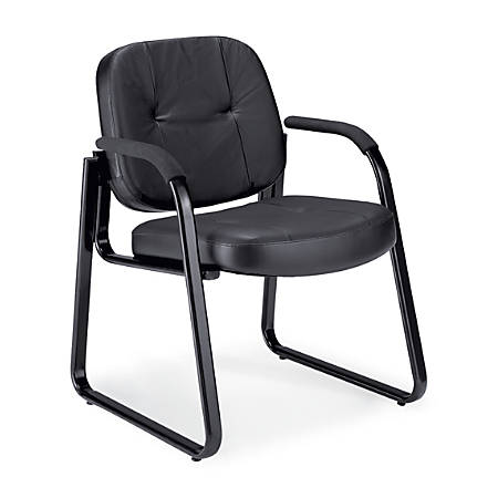 OFM Reception Chair, Black