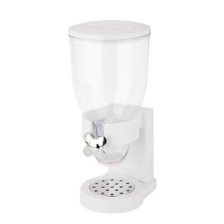 Zevro Indispensable Dispenser, Single, 17.5 Oz, White