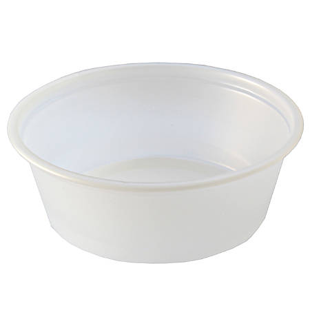 Fabrikal Plastic Portion Cups, 1.5 Oz, Clear, Pack Of 2,500